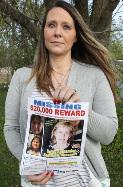 Tonya Miller seeks information about her missing mother