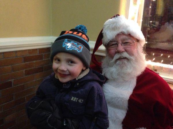 Santa in Downtown Washington