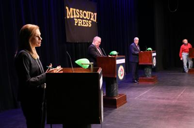 Candidates for Missouri governor debate in Columbia