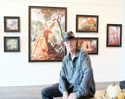 Artist Moves Into Downtown