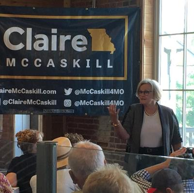 Sen. McCaskill Speaks at Washington Business