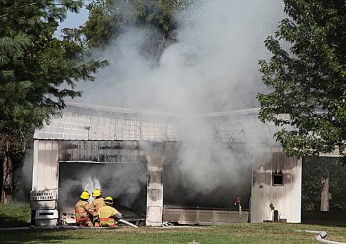Battle Barn Fire