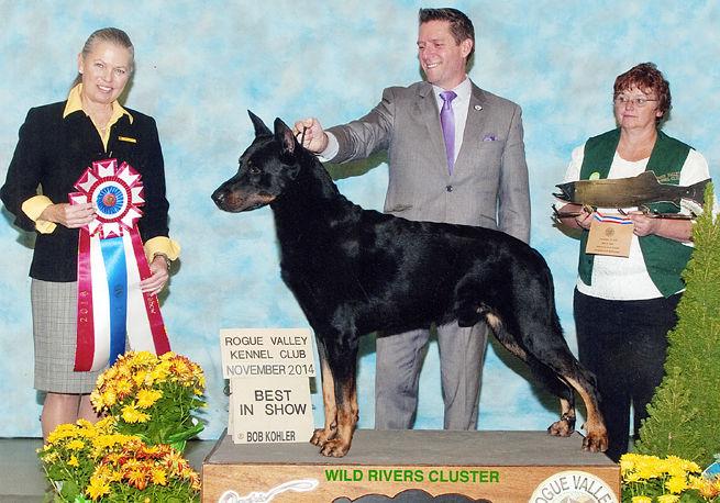 Paula Nykiel, Left, Is Popular Dog Show Judge