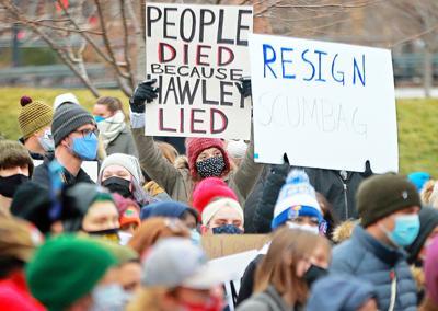 Congress U.S. Josh Hawley Protests