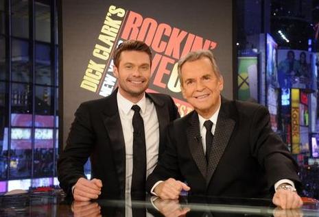 Ryan Seacrest & Dick Clark