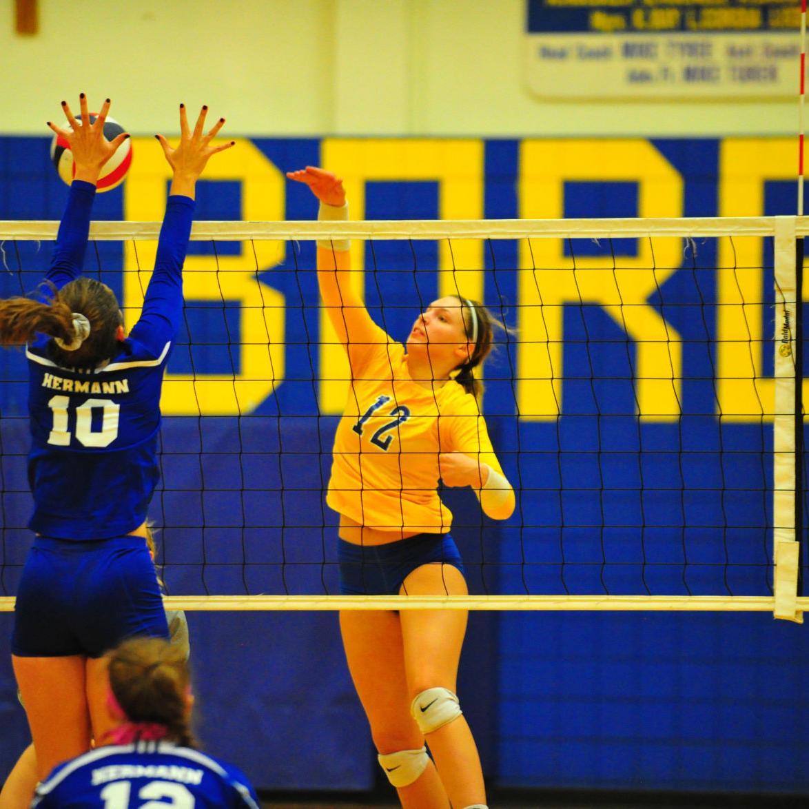 Volleyball — Hermann at Borgia