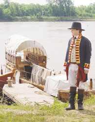 Descendant Portrays William Clark