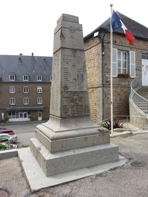 World War I Monument in Mortain, France