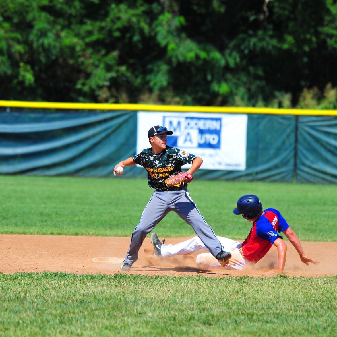 Junior Legion — Washington Post 218 vs. New Haven Post 366, Championship Series Game 1
