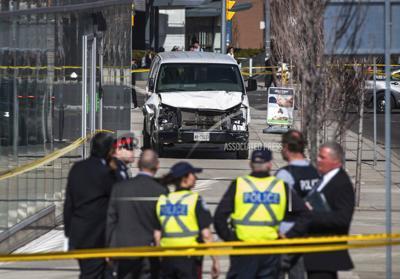 Canada Van Hits Pedestrians