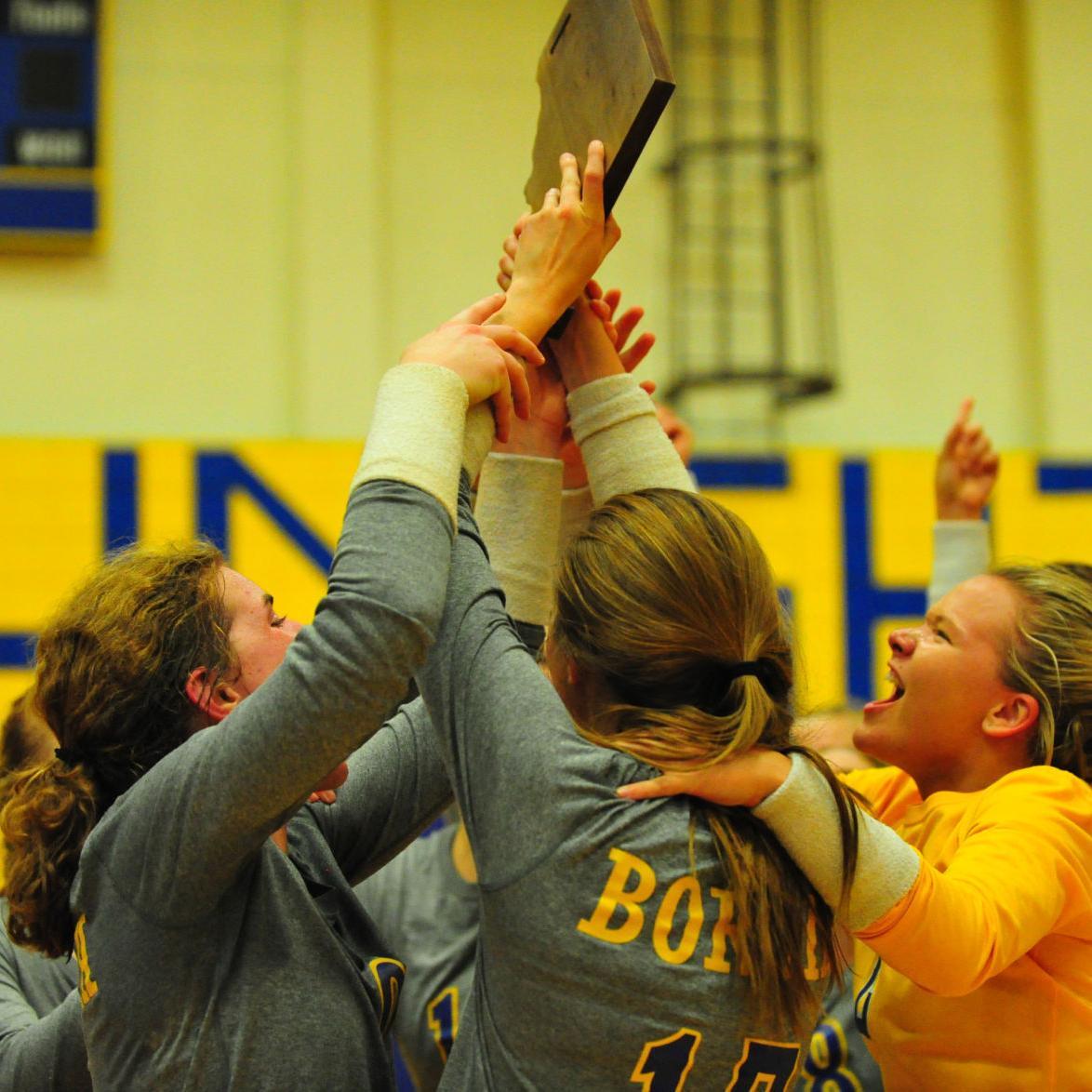 Volleyball — Borgia vs. O'Fallon Christian, C3D8 Championship