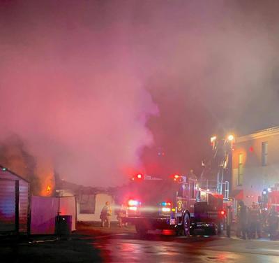 Fire at St. Vincent's de Paul