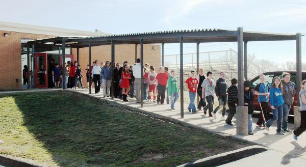 St. Clair Junior High Evacuation