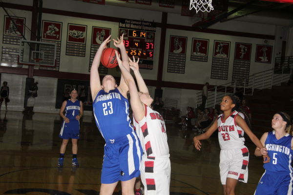 Lady Jays Secure GAC Central Title