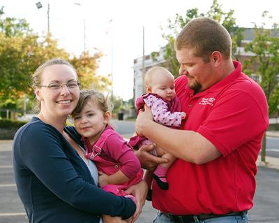 John Colvin and Family