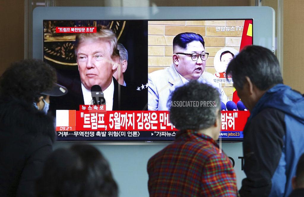 South Korea US North Korea