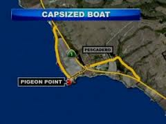 Four Missing in Waters South of San Francisco