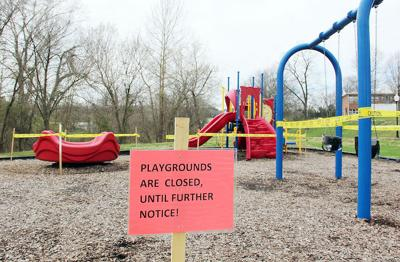 Playgrounds Closed