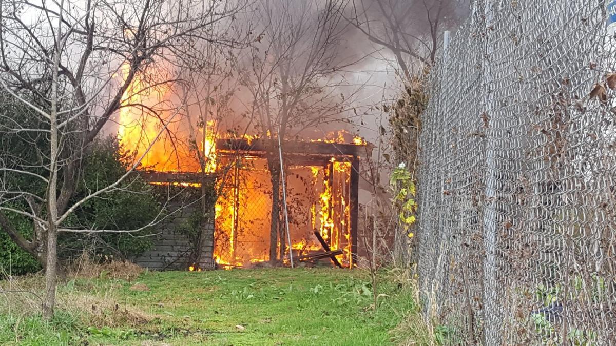 Fire in Union