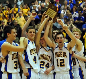 Borgia Wins District