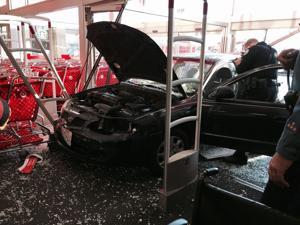 Vehicle in Target