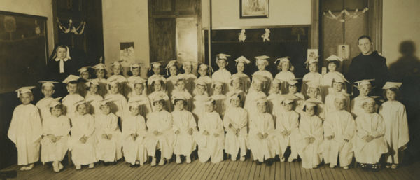 Washington's First Kindergarten Class