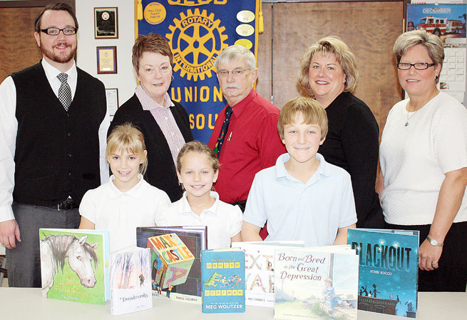 Union Rotary Supports Book Buzz
