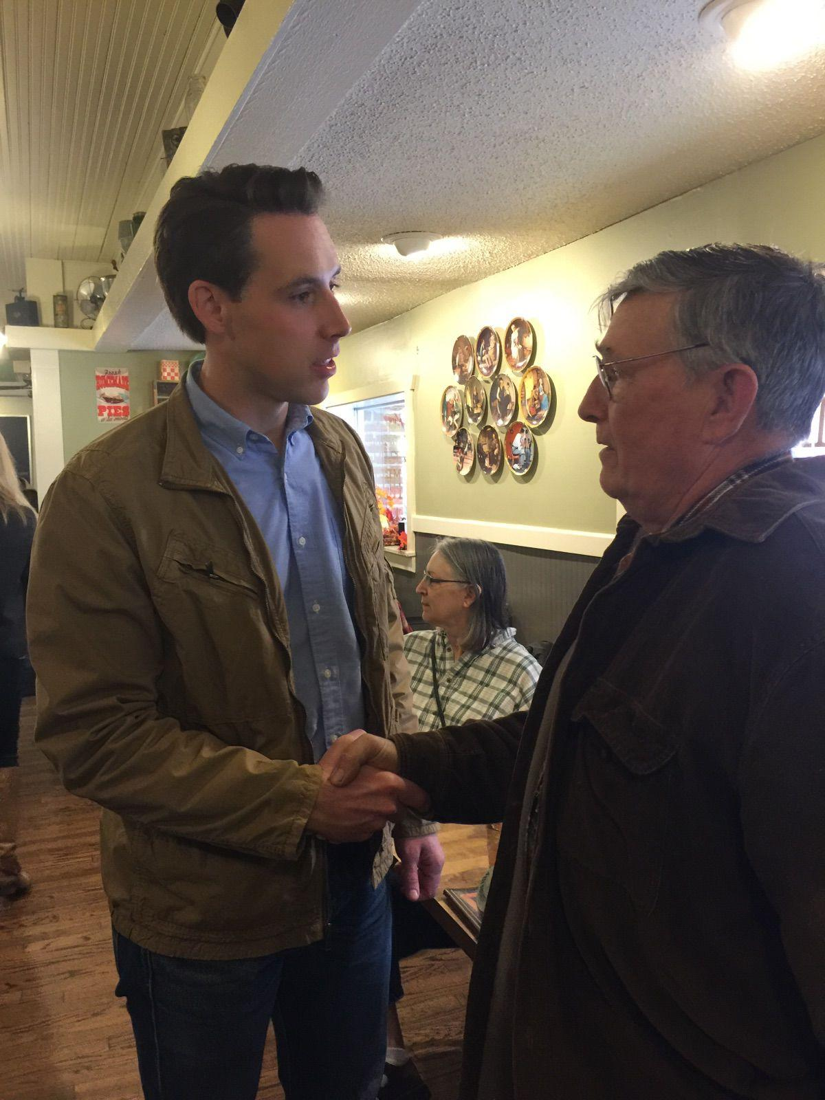 Hawley Visits Washington