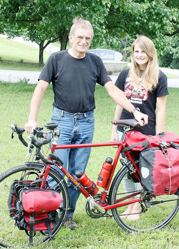 Visiting Bicyclist