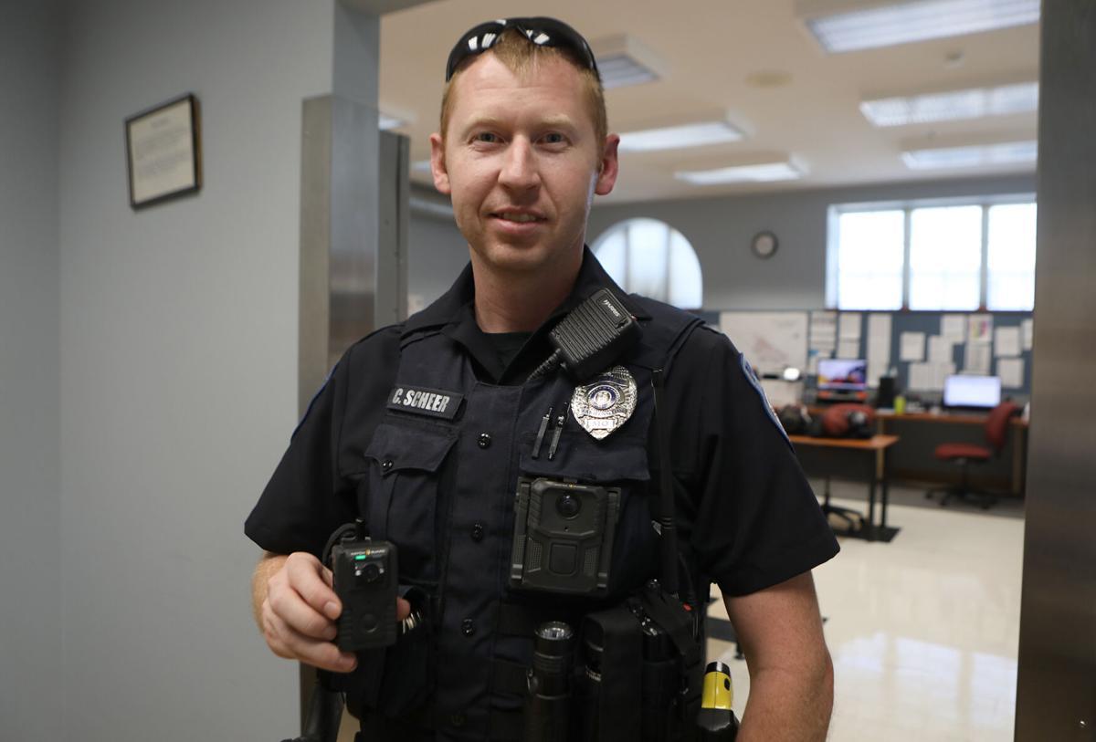 Washington Police Officer Charles Scheer