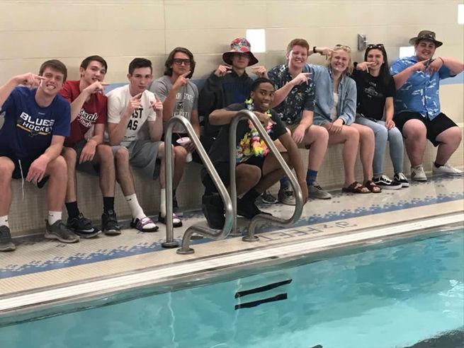 The Flock at WHS Swim Meet