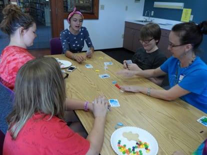 """Playing """"Get Bit"""" Card Game"""