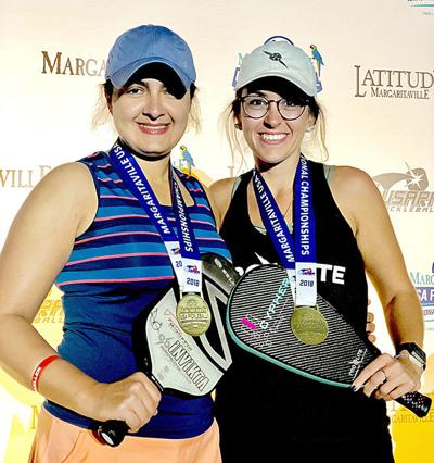 Wins Gold Medal at National Pickleball Championship
