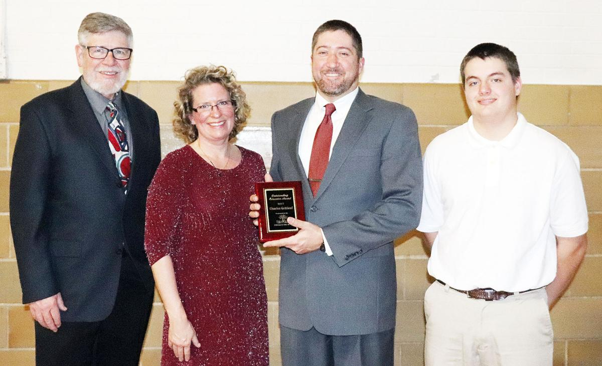 Outstanding Educator Honored