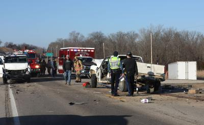 Crash on Highway 100
