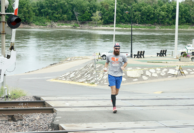 Jordan Connell Completes Run Around County Perimeter