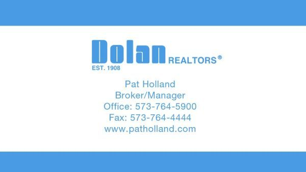 Dolan Realtors - Pat Holland Sponsorship