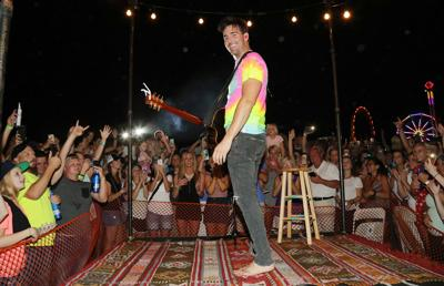Jake Owen Performs at the Washington Town & Country Fair