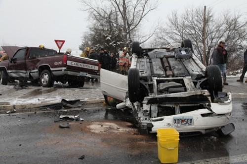 Hwy A & 100 Dec 31 wreck
