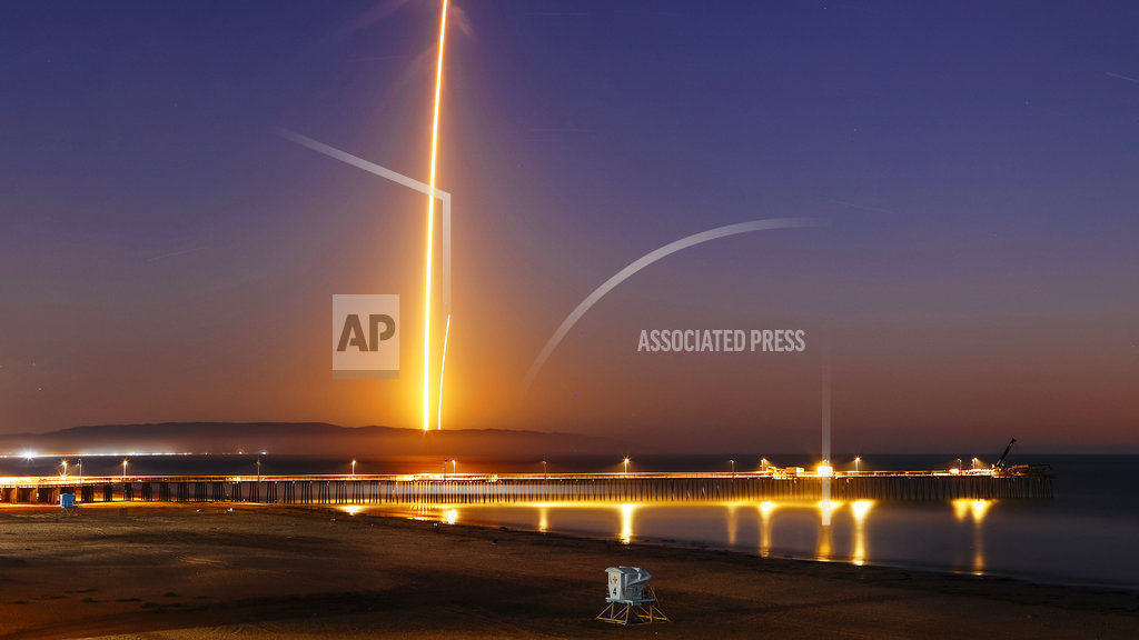 SpaceX Argentinian Satellite