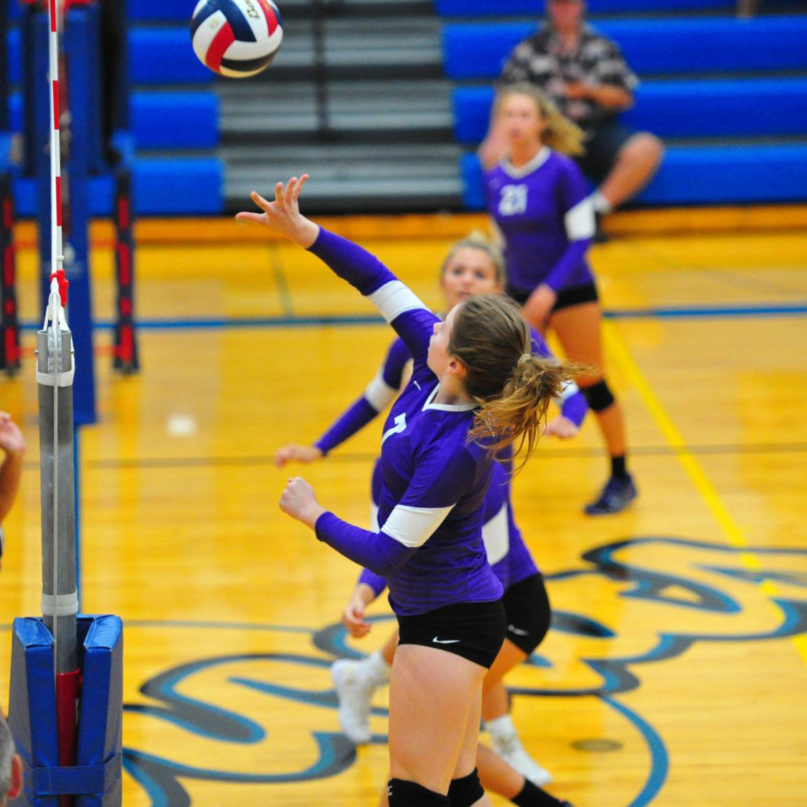 Volleyball — Owensville vs. Pacific, Herman Tournament Consolation