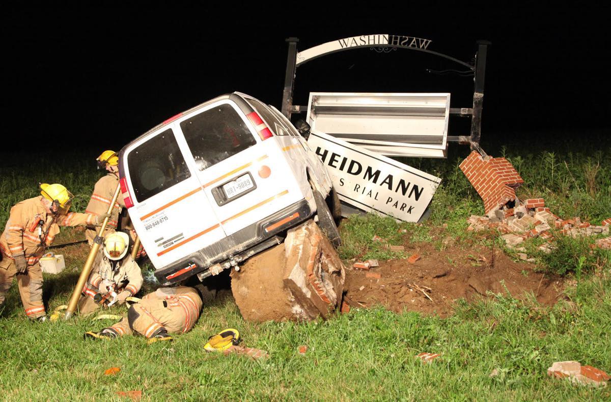 Crash at Heidmann Industrial Park