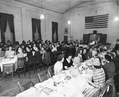 Communion Breakfast, 1943