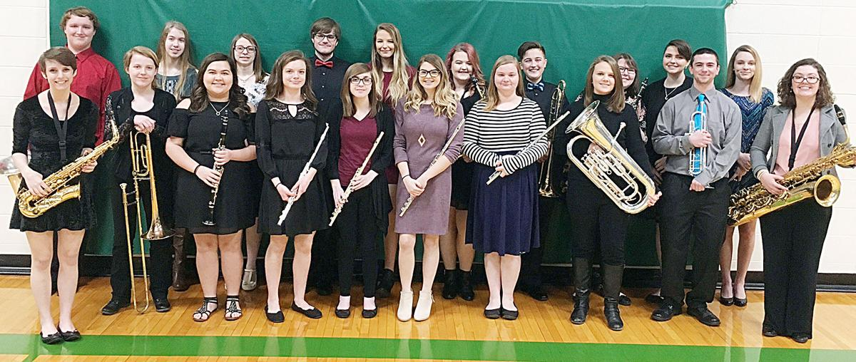 All-Conference Band Members