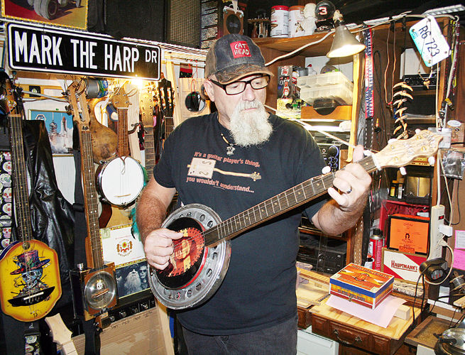 "Mark ""The Harp"" LeClaire"