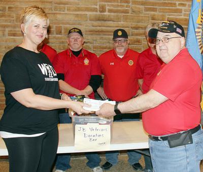 Donation for veterans