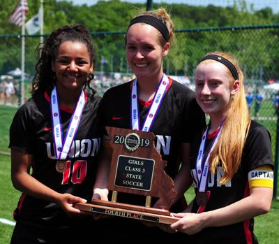 Seniors Hold Trophy