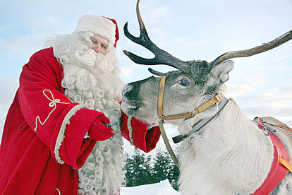 Santa Speaks Reindeer