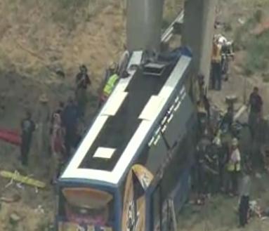 Megabus Crash