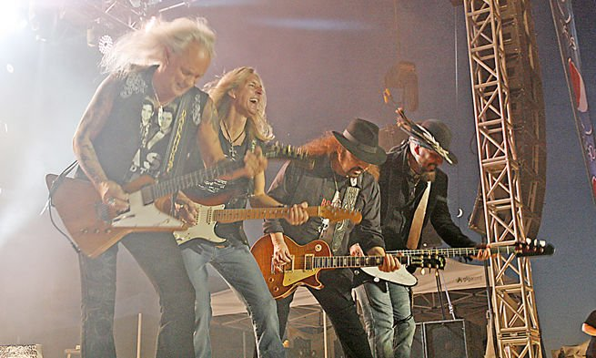 Lynyrd Skynyrd at 2013 Washington Town and Country Fair